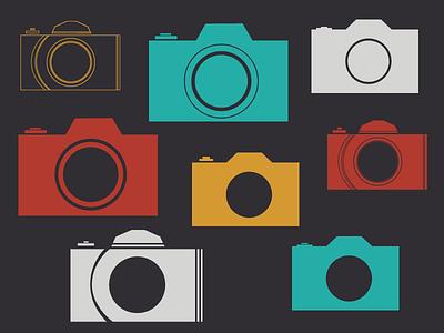 Camera Icon Explorations photography web project icon 35mm camera