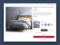 Product Detail Page - Multiple Product Page