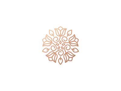 WildBloom cosmetics skincare floral line flower logo