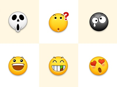 Emoji expression ui face icon emoji