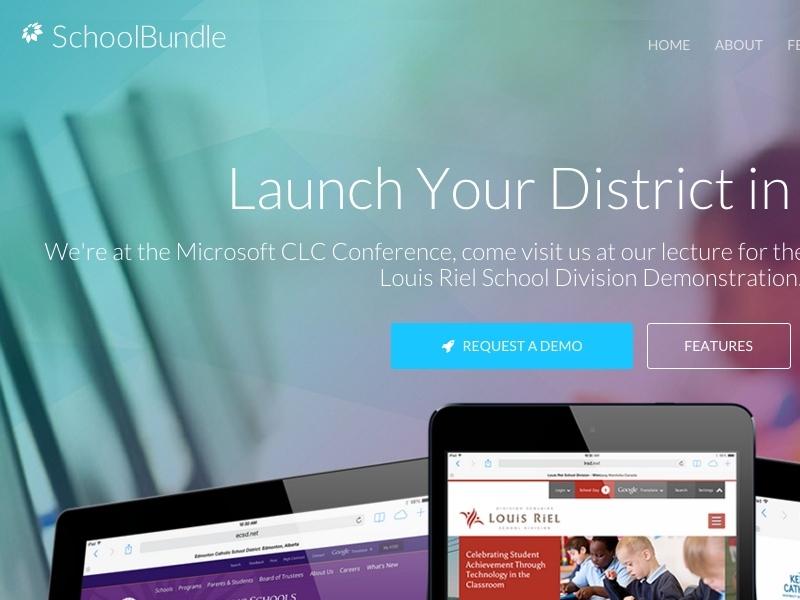 SchoolBundle Website Refresh refresh homepage website
