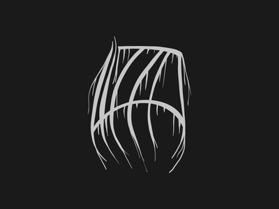 The extreme metal Lizzo logo no one was looking for lettering lizzo metal logo procreate