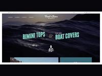 Vintage Web Design - Boat Cover Supply