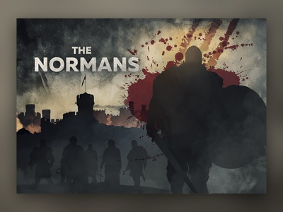 The Normans movie medieval poster movieposter alex-borisson uiviking viking warriors normans vikings