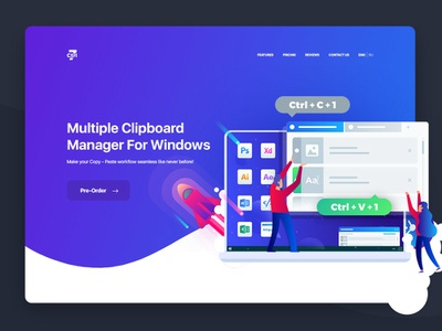 Ctrl7. Multiple Clipboard Manager for Windows app windows 8 windows 10 windows clipboard ctrl7
