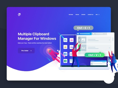 Ctrl7. Multiple Clipboard Manager for Windows