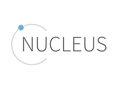 Nucleus Logo logo design framework tech logo