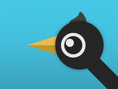 Crow Friend character design corvid crow bird grit flat illustration illustration