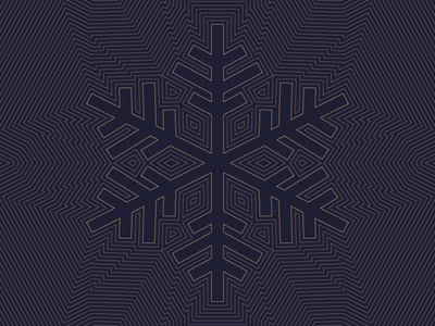 Snowflake gold navy blue linework line art illustration winter christmas holiday card snowflake