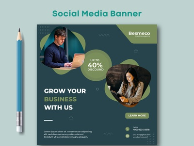 Social Media Banner ads graphic design design web banner social media banner social media post design marketing banner instagram banner facebook banner social media post