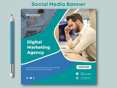 Social Media Banner ads design ads illustration design web banner social media banner social media post design marketing banner instagram banner facebook banner social media post