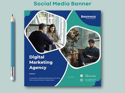 Social Media Banner ads graphic design facebook banner instagram banner marketing banner post design web banner social media banner social media social media post