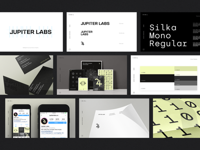 JUPITER LABS • Brand brand development design studio creative agency logo branding creative strategy ux ui visual design creative direction