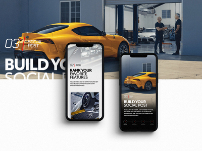 Toyota 2021 GR Supra interactive los angeles design studio creative agency creative strategy design direction ux ui design creative direction