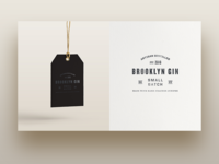 Brooklyn Gin Branding Direction