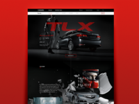 Acura TLX Vehicle Landing Page