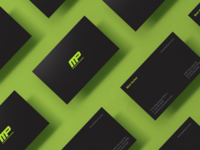 MusclePharm Business Cards