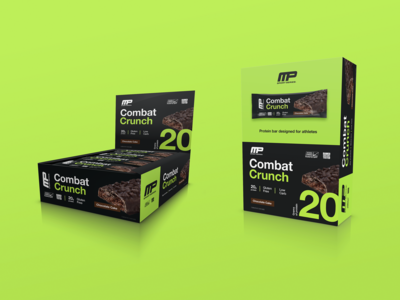 MP Sport Series Protein Bar Packaging