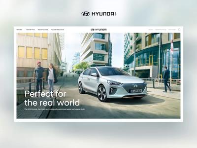 Hyundai Homepage (unused direction)