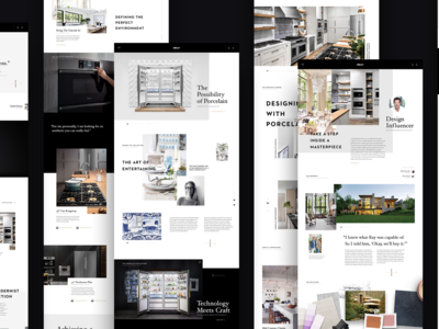 Dacor Redesign Layouts