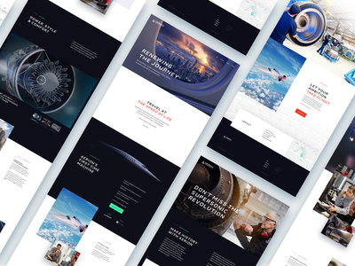 Aerion Supersonic • Site Redesign brand development los angeles design studio creative agency design direction creative strategy ux ui design creative direction