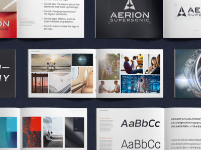 Aerion Supersonic • Brand Book