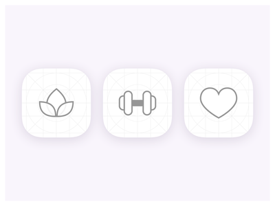 App Icons - Wireframe branding vector illustration icons