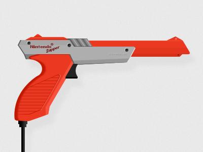 Nintendo Zapper nintendo illustration