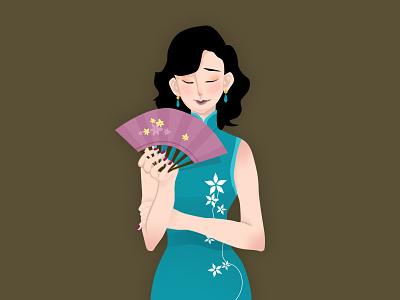 Chinese woman woman chinese