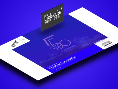 New Weberia website modern interfaces interface ui webdesign weberia