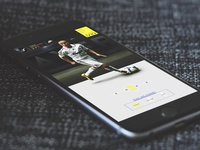 iPhone mockup Fabio Cannavaro official website