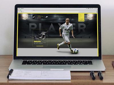 Fabio Cannavaro Official website concept website official cannavaro fabio fabiocannavaro