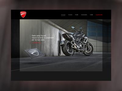 Ducati Tiles website italian design tiles html5 website ducati tiles ducati