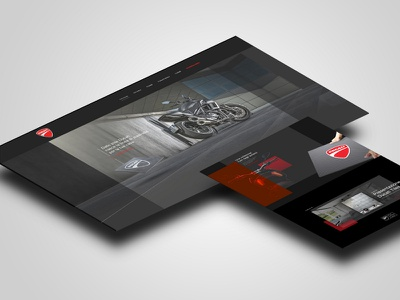 Ducati Tiles website italy bologna cycle motor interaction design homepage user interface ui website design ducati