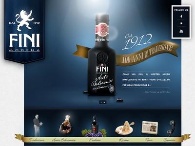 Acetaia Fini Modena webdesigner webdesign fini modena acetaia fini