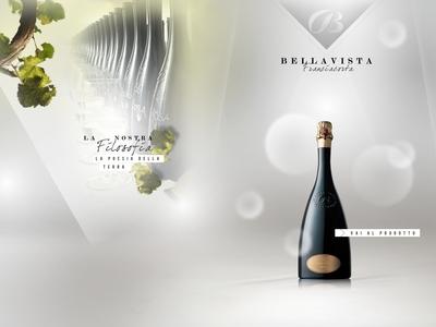 Bellavista wine website webdesign web design food and beverage italian food italian italy franciacorta wine bellavista