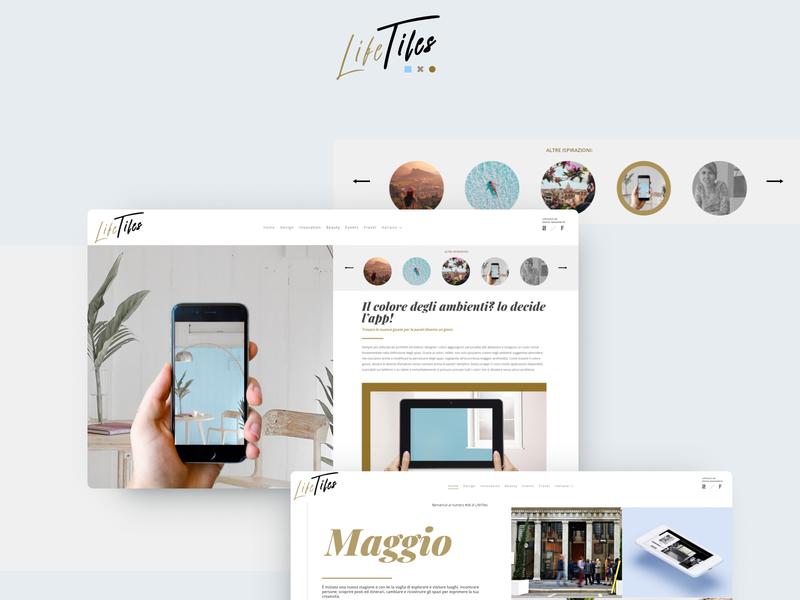 LifeTiles - Digital magazine mag online magazine magazine lifetiles digital magazine