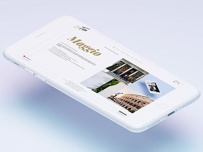 LifeTiles - Digital magazine white inspirational inspiration web design webdesign digital mag magazine digital digital magazine tiles life