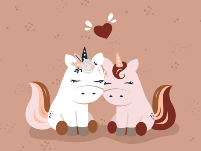 Unicorns in love