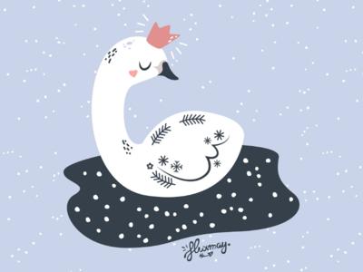 Little swan princess