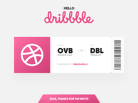 Hello Dribbble! First shot