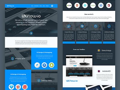 Userflow.io landing page flow user journey userflow ui ux