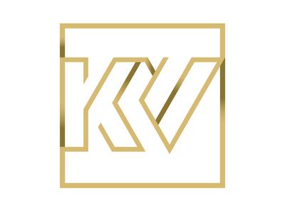 Lq Kv logo san diego luquin logo design