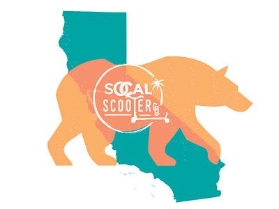 Lq Socal Sooters 02 logo luquin brand logo design san diego