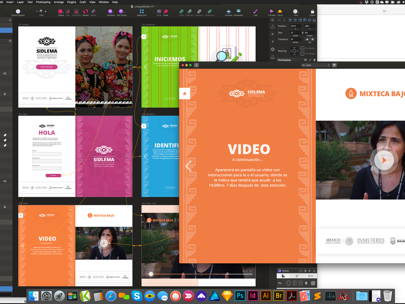 UX - UI Lengua Madre luquin laravel ux ui app web