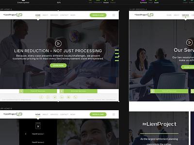 TheLienProject.com invisionapp sketch app inquo luquin interaction design ux ui san diego