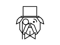 Gentleman Bulldog Identity Design