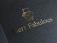 Herr Fabulous Logo Mockup