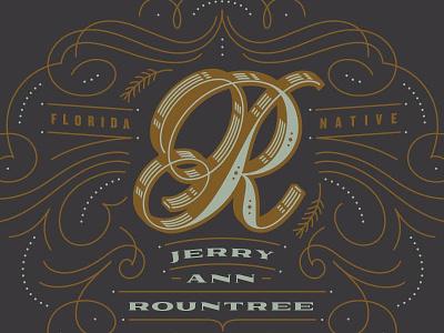 Dolcetto + Railroad Co. pretty decorative flourishes artwork script kendrick kidd design typography lettering