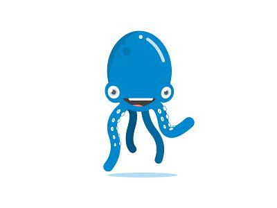 Poulpi the octopus cartoon octopus animal